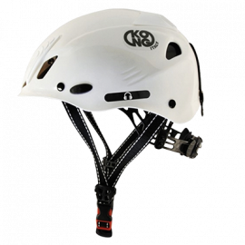 White Hard Hat with Adjustable Chin Strap