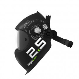 Helmet Shell - Vegaview 2.5 - Black